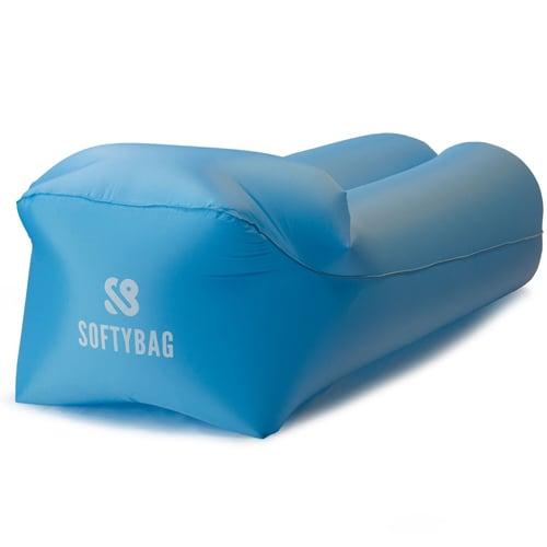 Aqua Blauwe Zitzak.Softybag Opblaasbare Zitzak Blauw Wetsuit Nl Accessoires Voor