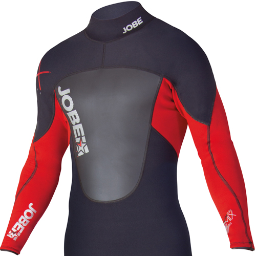 Jobe progress remix 3/2.5 heren fullsuit triathlon wetsuit rood