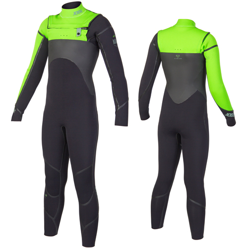 Jobe Malmo 4/3 Lime steamer kind wetsuit