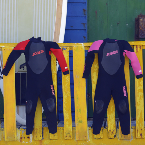 Jobe Progress Rebel 3/2.5 roze kinder fullsuit