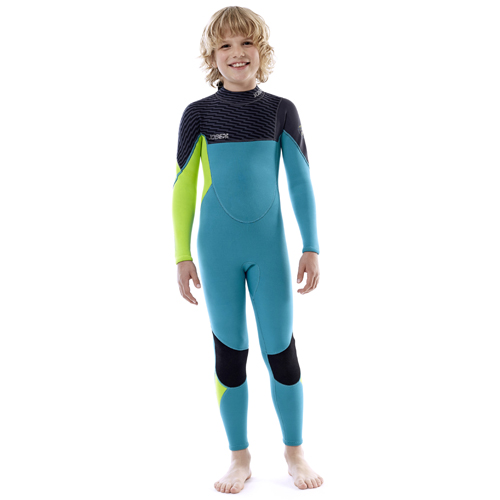 Jobe boston 3/2 teal blauw kinder fullsuit