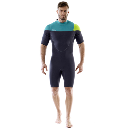 Jobe perth 3/2 teal blauw surf shorty heren
