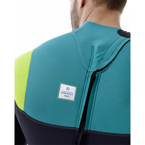 Jobe perth 3/2 teal blauw shorty heren wetsuit