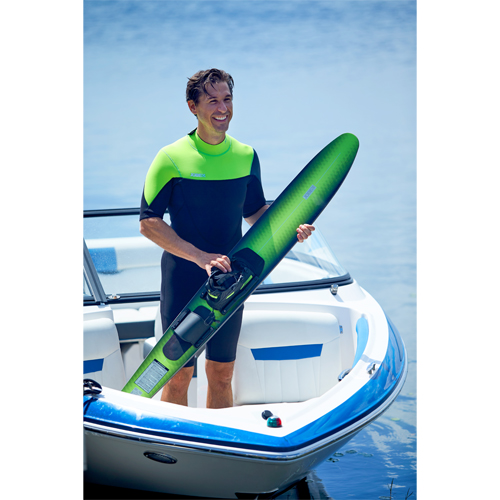 Jobe perth shorty wetsuit heren 3|2mm lime green