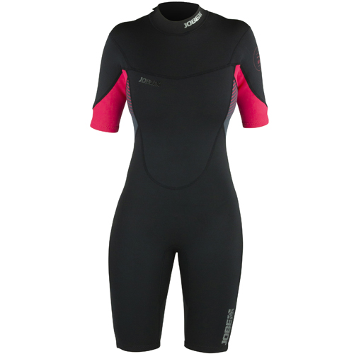 Jobe sofia shorty wetsuit dames 3|2mm hot pink