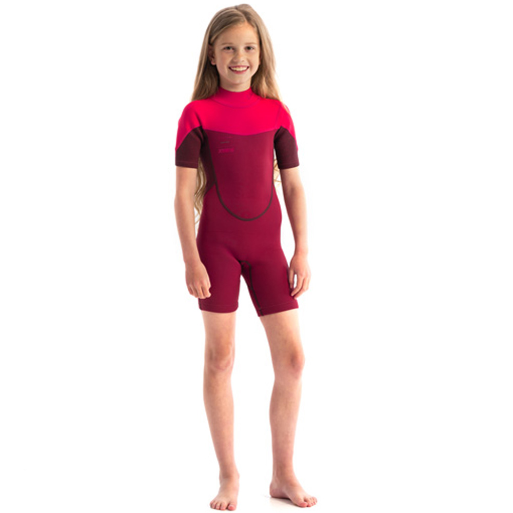 Jobe boston 2mm shorty wetsuit kind hot pink