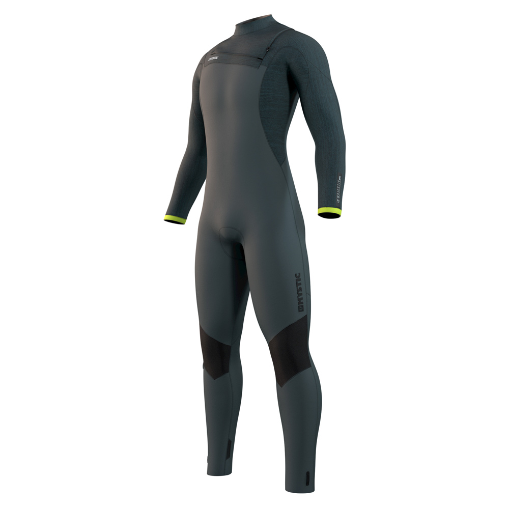 mystic Majestic Fullsuit 5/3mm borstrits Dark Leaf heren wetsuit