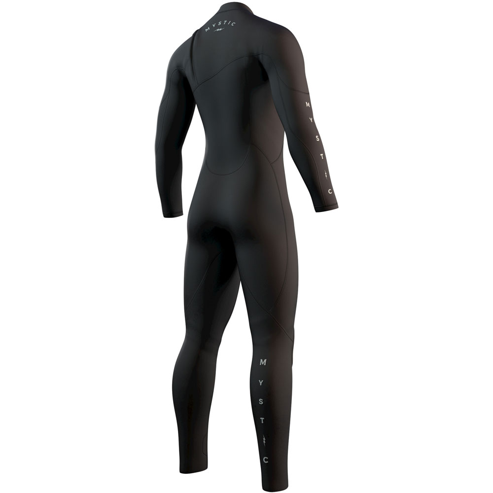 mystic The One Fullsuit 4/3mm Zipfree Zwart heren wetsuit