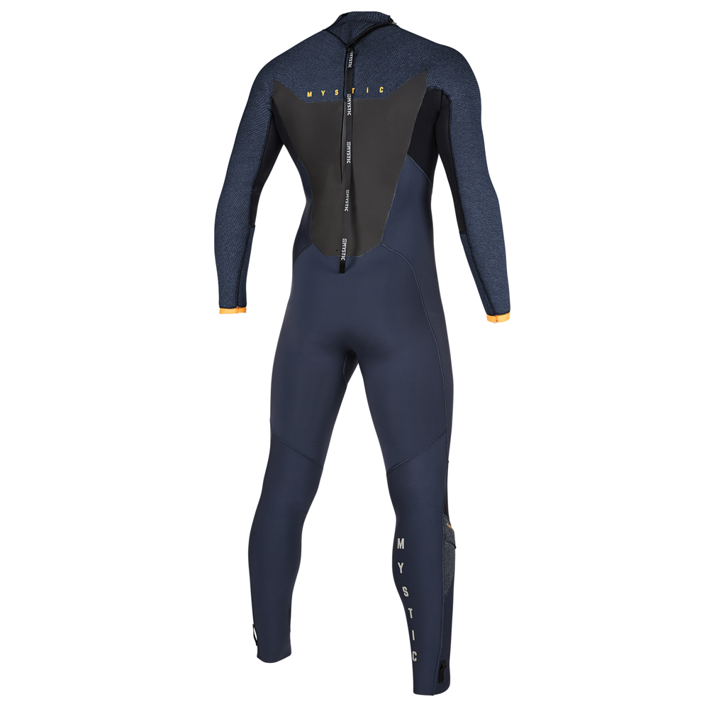 mystic Majestic Fullsuit 4/3mm rugrits wetsuit heren Navy