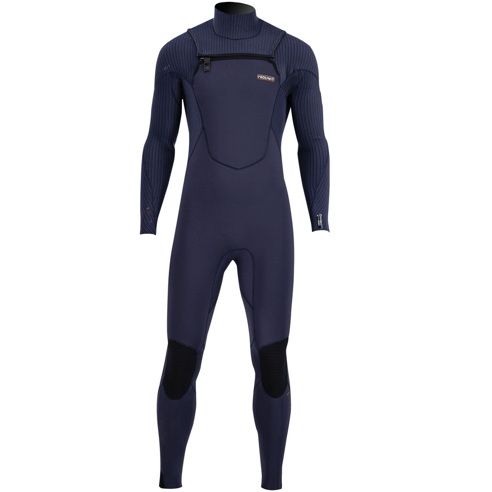 Prolimit Proodator Steamer DownAirflex 4/3 borstrits blauw wetsuit heren