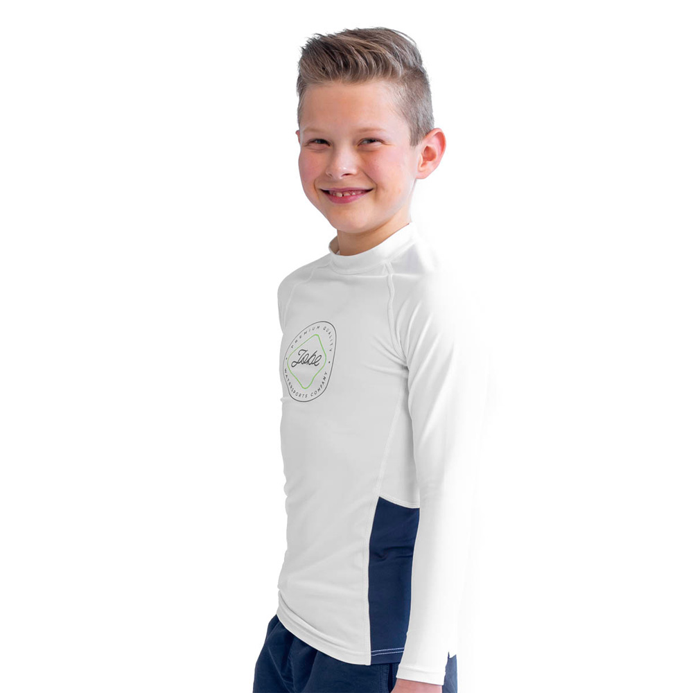 Jobe Rash Guard lange mouwen kind wit