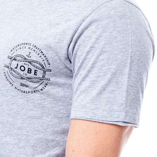 Jobe Heren t-shirt craft grijs