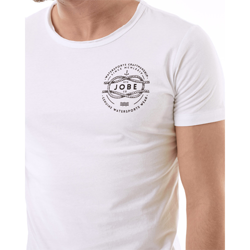 Jobe craft t-shirt heren wit