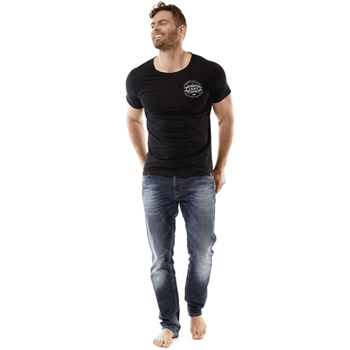 Jobe craft t-shirt heren zwart