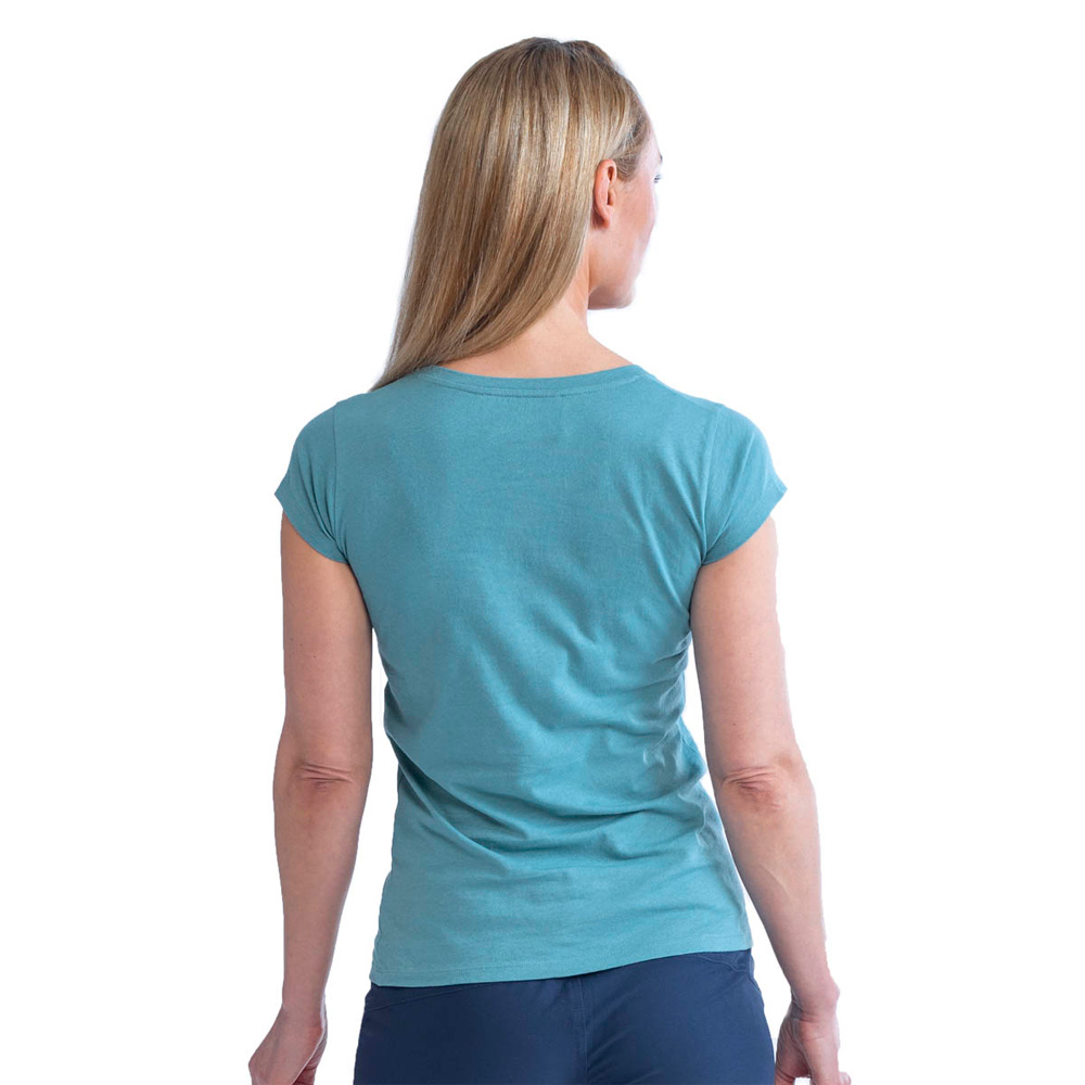 Jobe Casual T-Shirt dames Vintage Teal